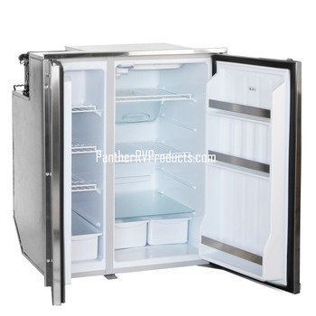 Indel Webasto 1200BB4YK0000 Isotherm Electric Refrigerator Freezer - AC/DC - 7.0 Stainless Steel