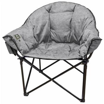 Kuma Outdoors KO846-HG Heated Lazy Bear Chair - Heather Gray