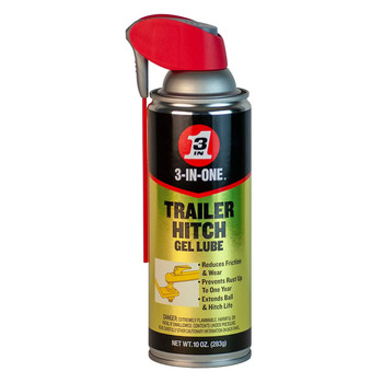 3-in-1 12010 Trailer Hitch Ball Gel Lube - 10oz.