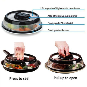 Chef Concepts 210-SBS RV Air-Tight Press Dome Food Storage - Single