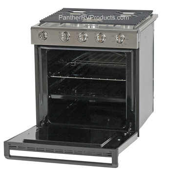Dometic™ R31 Series 50447 RV Oven 3-Burner Stove  Stainless Steel / Range - 21""