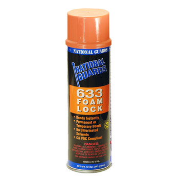 633  Foam Lock   National Guard Foam and Fabric Spray Adhesive