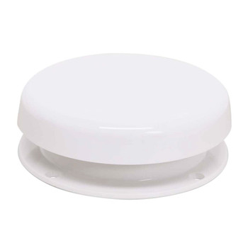 JR Products 02-29125 RV Mushroom Style Plumbing Sewer Vent - White