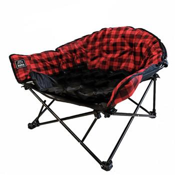 Kuma Outdoors KO-844 Lazy Dog Bed - Red/Black