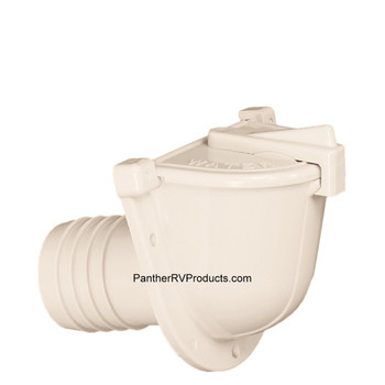 Camco 37002 Gravity Fresh Water Fill Inlet - Colonial White