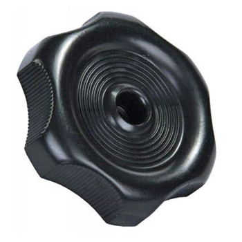 "RV Designer H711 RV Window Crank Knob - Black - 1/2"" Shaft"