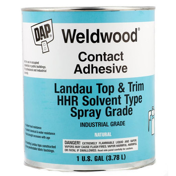 Wellwood WEL-0307 Marine Vinyl Spray Contact Adhesive - 1 gallon