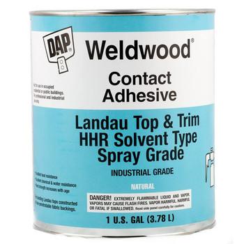 Weldwood WEL-0307 Marine Vinyl Spray Contact Adhesive - 1 gallon