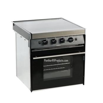 Dometic™ CU-433US  Moonlight RV Propane 3-Burner Stove / Oven - Black