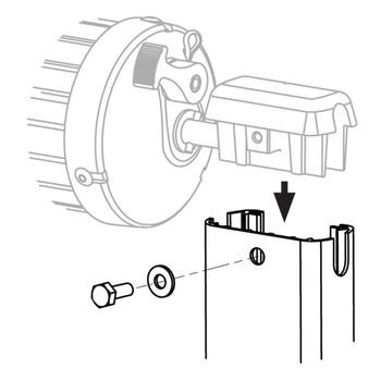 Dometic™ A&E 8273000.402U RV Awning Arm Extension Hardware - Short - Black