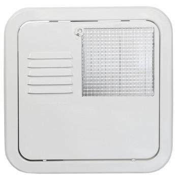 Suburban 6255APW  Replacement Water Heater Door 6 Gallon Flush Mount - White