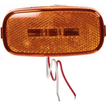 Kaper L14-0104A-BLK Amber LED Marker Light