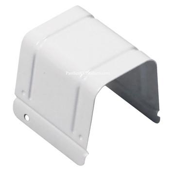 Rieco Titan 993111 Truck Camper Jack Gear Box Cover - White