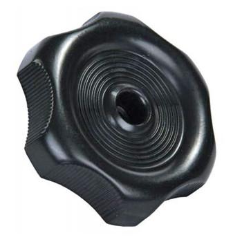 """JR Products 20345 RV Window Crank Knob - Black - 7/8"""" Shaft"""