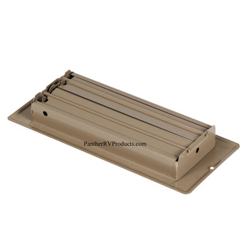 "AP Products 013-628 RV Heating/Cooling Floor Register - 4"" x 10"" - Brown"