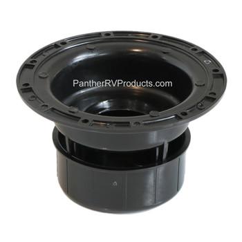 Ventline V2049-55 RV Plumbing Sewer Vent Cap - Black