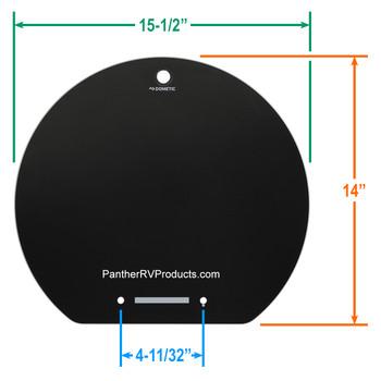 Dometic™ SMEV 105313572 OEM Glass Lid for VA7306 Sink