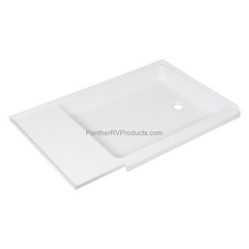 Superior RV 2742RP Shower Pan / Tray – Right Drain (C402 Compatible)