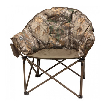 Kuma Outdoors 433-MB Lazy Bear Cushioned Camping Chair - Real tree