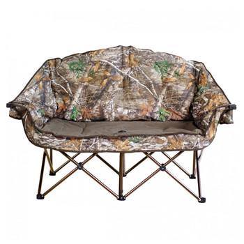 Kuma Outdoors 490-MB Bear Buddy Double Camping Chair - Realtree