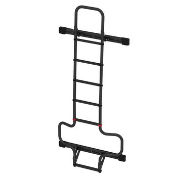 Fiamma  02426A09A Dodge Promaster Rear Door Mounted Ladder - Black