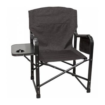 Kuma Outdoors 431-CB Bear Paws Camping Chair - Carbon Black