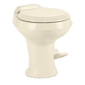 Dometic™ Sealand 300 RV Bathroom Toilet - Plastic - Foot Flush - Bone
