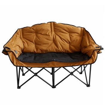 Kuma Outdoors 490-SB Bear Buddy Cushioned Camping Chair - Sierra