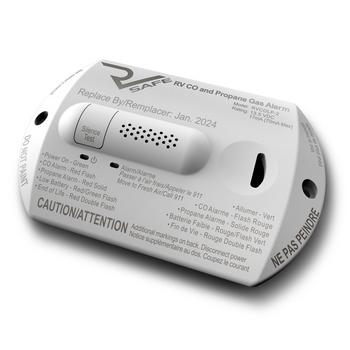 RV Safe  RVCOLP-2W RV Carbon Monoxide / Propane Leak Detector / Alarm