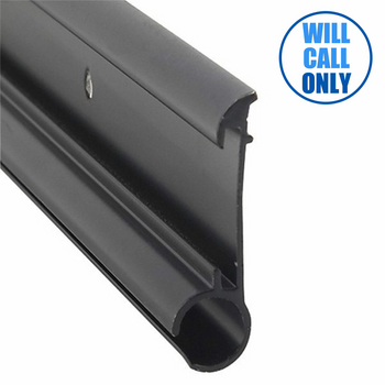 AP Products 021-51002-16 RV Awning Rail - Insert Required - 16 Ft. - Black