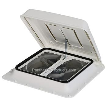 Fiamma 03623F01 Turbo-Vent Rooflight with Fan - White