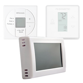 Micro-Air 351 RV Air Conditioner Digital Thermostat for Dometic SZL Controls - White