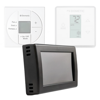 Micro-Air 351 RV Air Conditioner Digital Thermostat for Dometic SZL Controls - Black