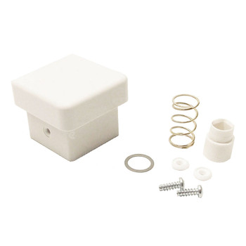 Happijac White Cap Kit for Happijac Manual Crank Jacks