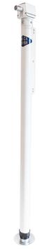 Rieco Titan 14031M1 Single Convertible Manual Camper Lift Jack - White
