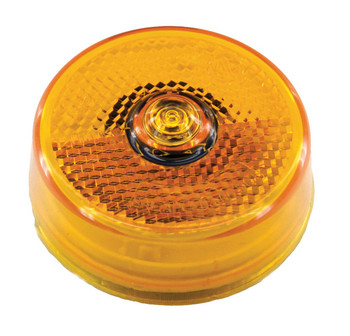 ECO Series L14-0065A LED Marker / Clearance Round Light - Amber