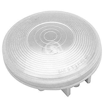 """ECO Series 1T-L4C Trailer Back Up Light 4"""" Round - White 2 Prong"""