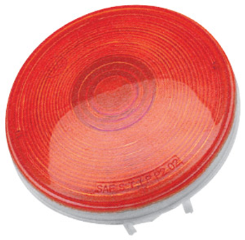 """ECO Series 1T-L4R Trailer Tail Light 3-Function 4"""" Round - Red"""