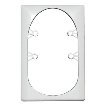 ECO Series L12-0096 Single Light Retrofit Bezel for Square Replacement