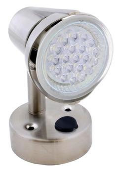ECO Series L26-0067 LED RV Reading Light / Lamp Satin Chrome - 155 Lumen