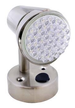 ECO Series L26-0068 LED RV Reading Light / Lamp Satin Chrome - 185 Lumen