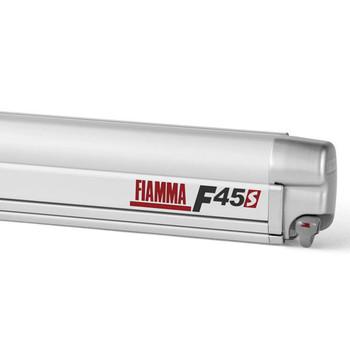 "Fiamma 06290A13R F45S Awning 3.0m (10'1"") - Titanium Finish Case - Royal Grey Fabric"