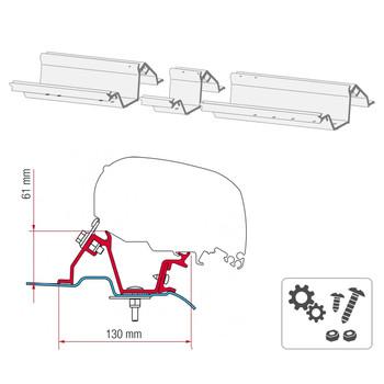 Fiamma® 98655-746 F80S Awning Mounting Bracket - Mercedes Sprinter w/o Roof Rails