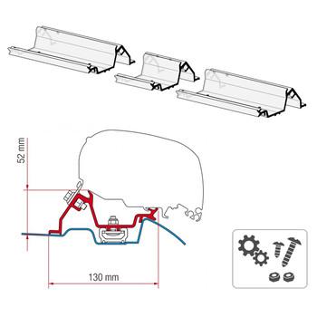 Fiamma® 98655-772 F80S Awning Mounting Bracket - Mercedes Sprinter w/ Roof Rail