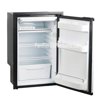 Vitrifrigo C85IBD4-F RV Electric Refrigerator Freezer Black- AC/DC - 3.2 CF