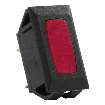 JR Products 12725 Interior Indicator Light - Red/Black