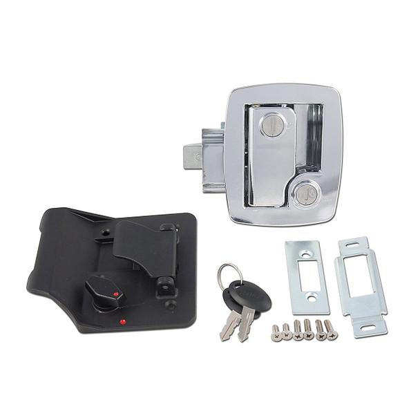 AP Products 013-535 RV Entrance Lock w/ Keys - Chrome