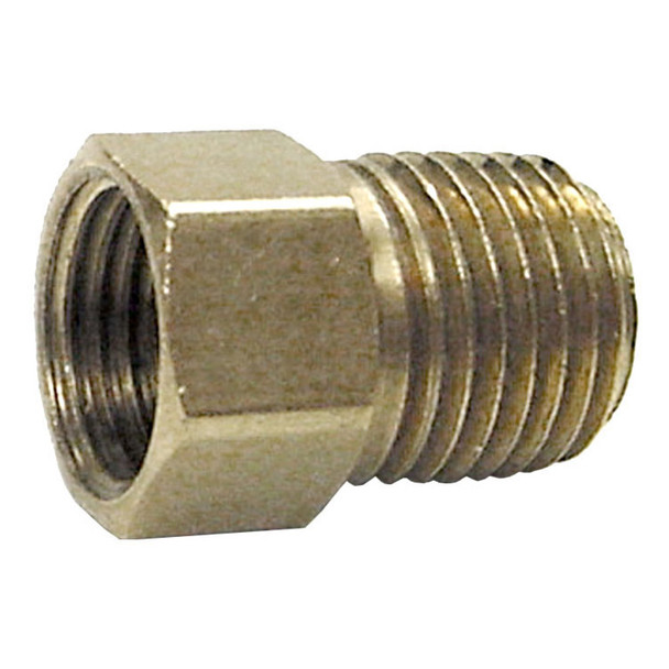 """Marshall ME2132 Propane Adapter Fitting 1/4"""" Inverted Flare x 1/4"""" MNPT"""