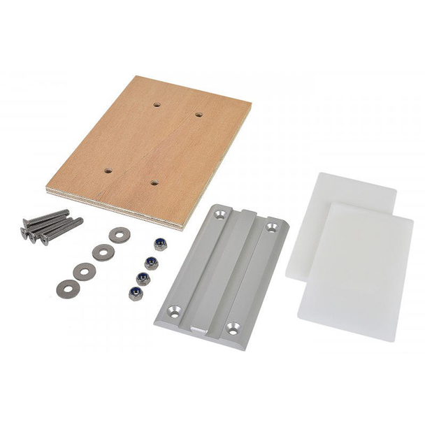 Lagun 06112 Dining Table Leg Mounting Plate with Hardware