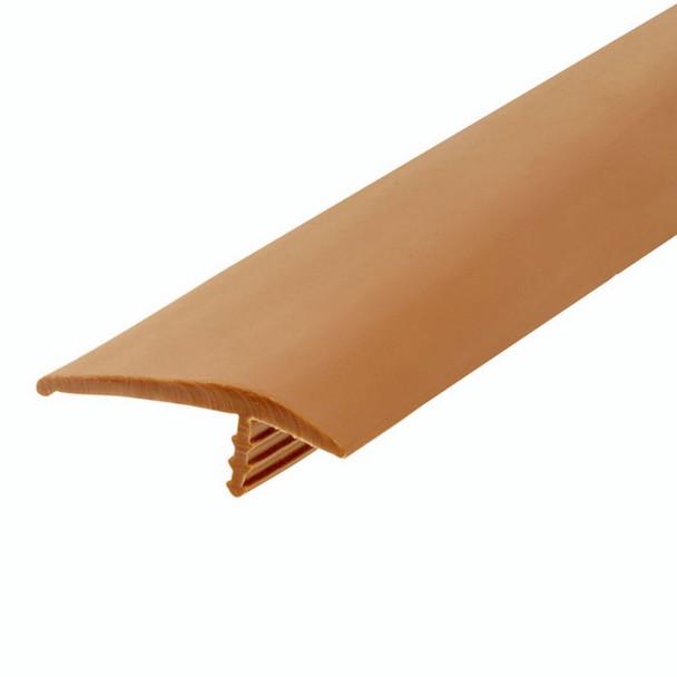 "105-544-709-25 Plywood Edge Plastic Trim T Molding - 1-1/4"" - Tan - 25 Feet"